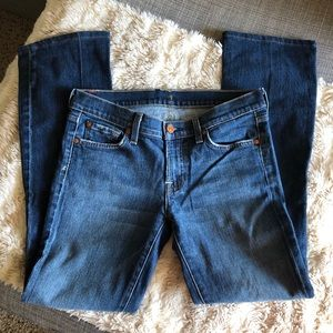 7 For All Mankind Bootcut Denim Jeans